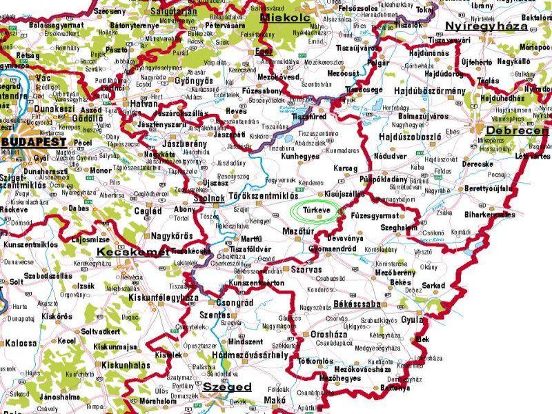 túrkeve térkép Megközelíthetőségünk túrkeve térkép