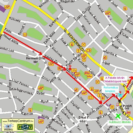 kisújszállás térkép Megközelíthetőségünk kisújszállás térkép